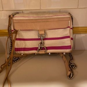 Rebecca Minkoff crossbody canvas bag